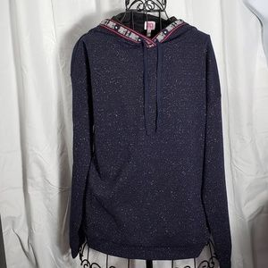 Juicy Couture Sparkly Pullover Hoodie NWOT